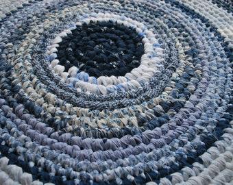 On sale,handmade circle rug
