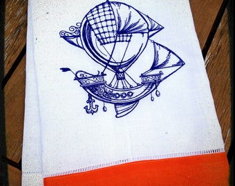 Balloon Voyage Tea Towel