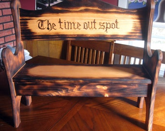 Popular Items For Time Out Bench On Etsy