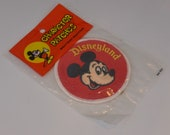 Disneyland Mickey Mouse Character Patch New Old Stock in Package
