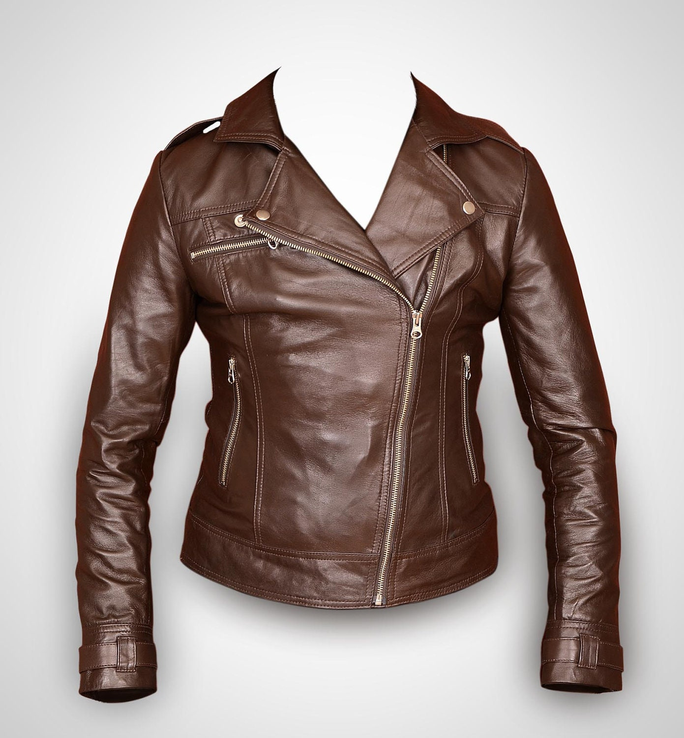 Find great deals on eBay for brown leather jacket womens. Shop with confidence.