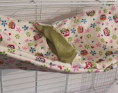 Ferret / small animal / pocket hammock - 100% cotton, medium