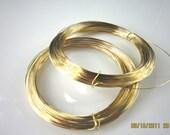 10 feet  28 gauge half hard 14k gold filled round wire