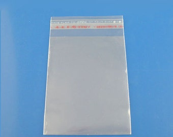 5X7 A7 Plus Clear Resealable  Card Bags 50 pieces