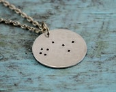 Constellation Coin Necklace