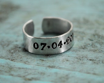 SALE Date Ring