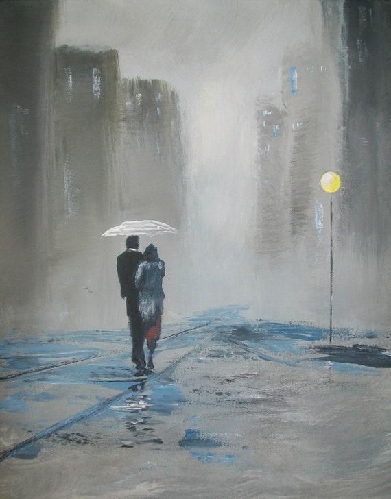 Impressionism Original 16x20 Acrylic Painting