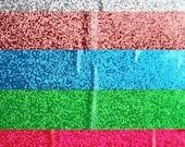 1 Yard (3 Feet) GLITTER Hula Hoop Tape - Your Choice of Colors