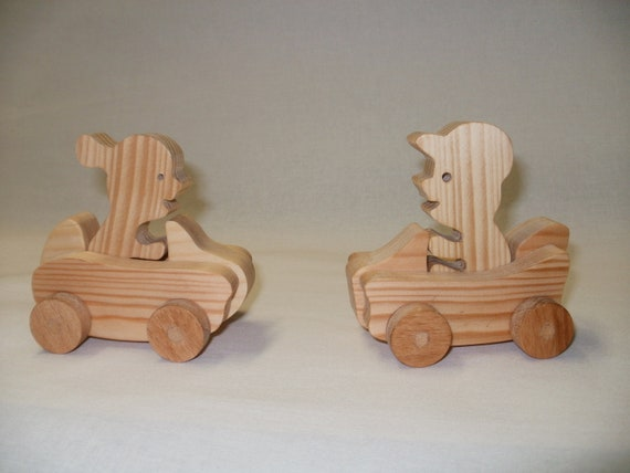 wood toy car  kids waldorf