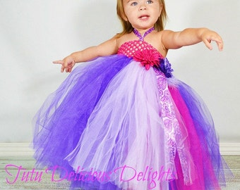 Purple Paisley Passion Tutu Dress, Paisey Tutu Dress, Pageant Tutu Dress, Kids Birthday Tutus, Flower Girl Dress, Purple Tutu Dress