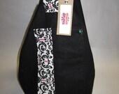 Black Handbag and messenger bag