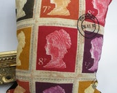 Stamps Decorative Cushion 2