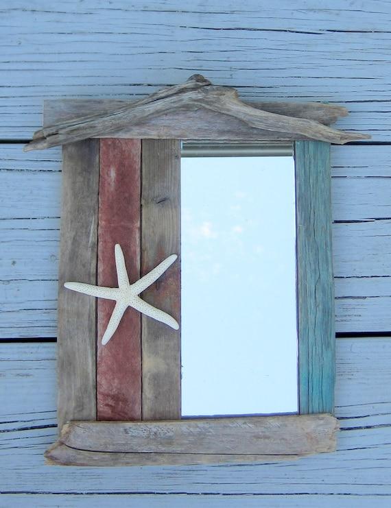 "Driftwood Mirror 10"" x 13"""