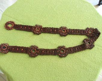 Unusual Vintage Appleseed Belt