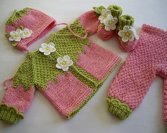 Intarsia Knitting Patterns For Children : Popular items for knit for baby on Etsy