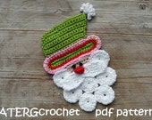 Crochet pattern Santa Claus by ATERGcrochet