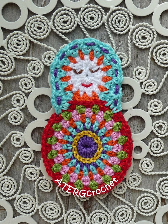 Matryoshka crochet application by ATERGcrochet