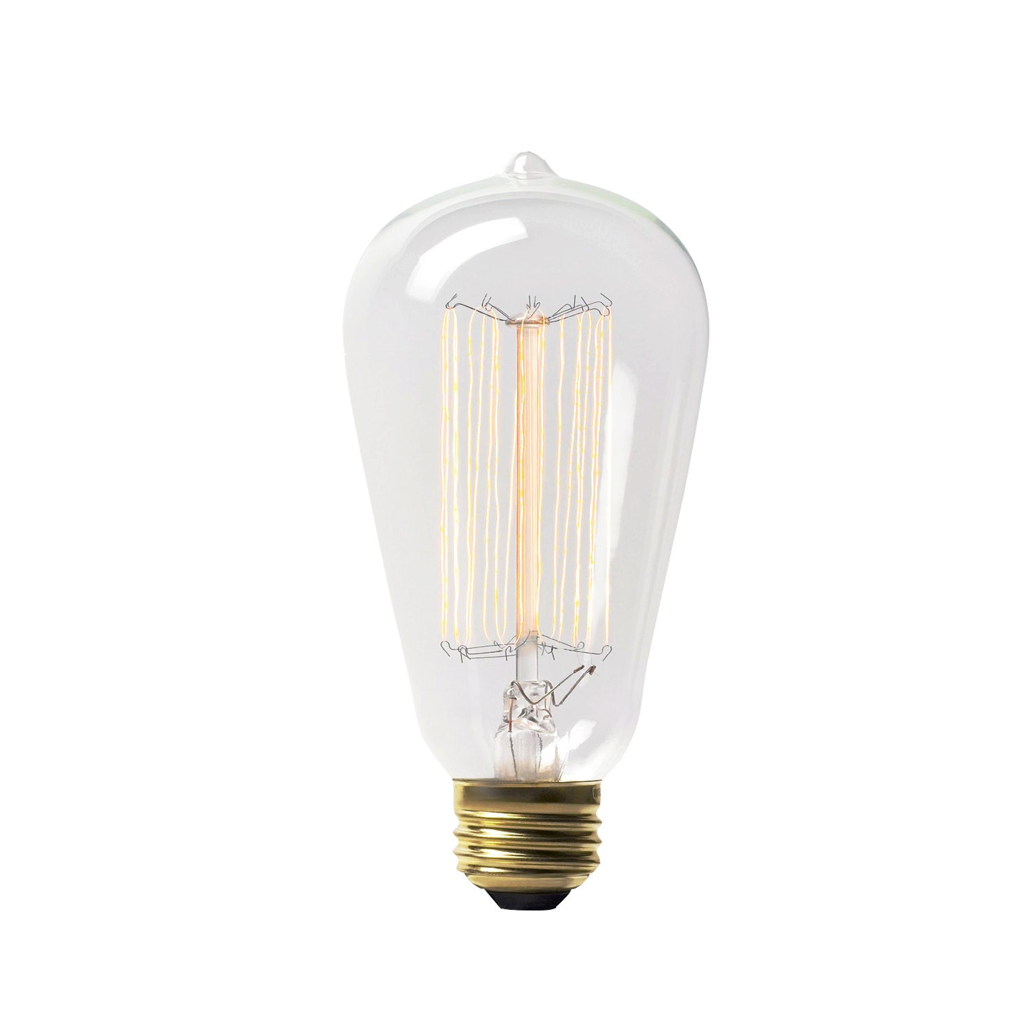 60w Vintage Style Incandescent Edison Light Bulb By Overspraykc