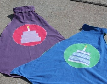 Birthday Boy/Girl Super Hero Capes, Personalized
