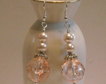 Pearl Drops Dangle Earrings