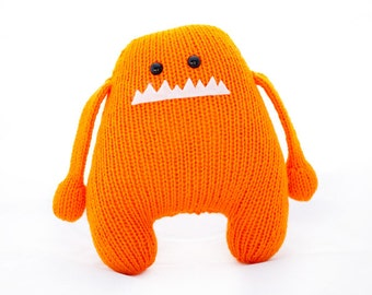 Baldwin: Amigurumi Stuffed Animal Monster Toy