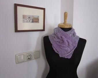 hand knitted wool scarf neckwarmer neck collar women accessories fashion