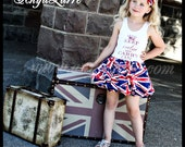 Keep Calm and Carry On Union Jack Jubilee Bubble Dress