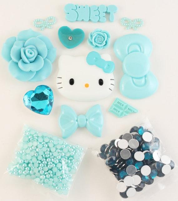 "SALE - Petit Deco Kawaii ""Cool Water"" Blue Kit"