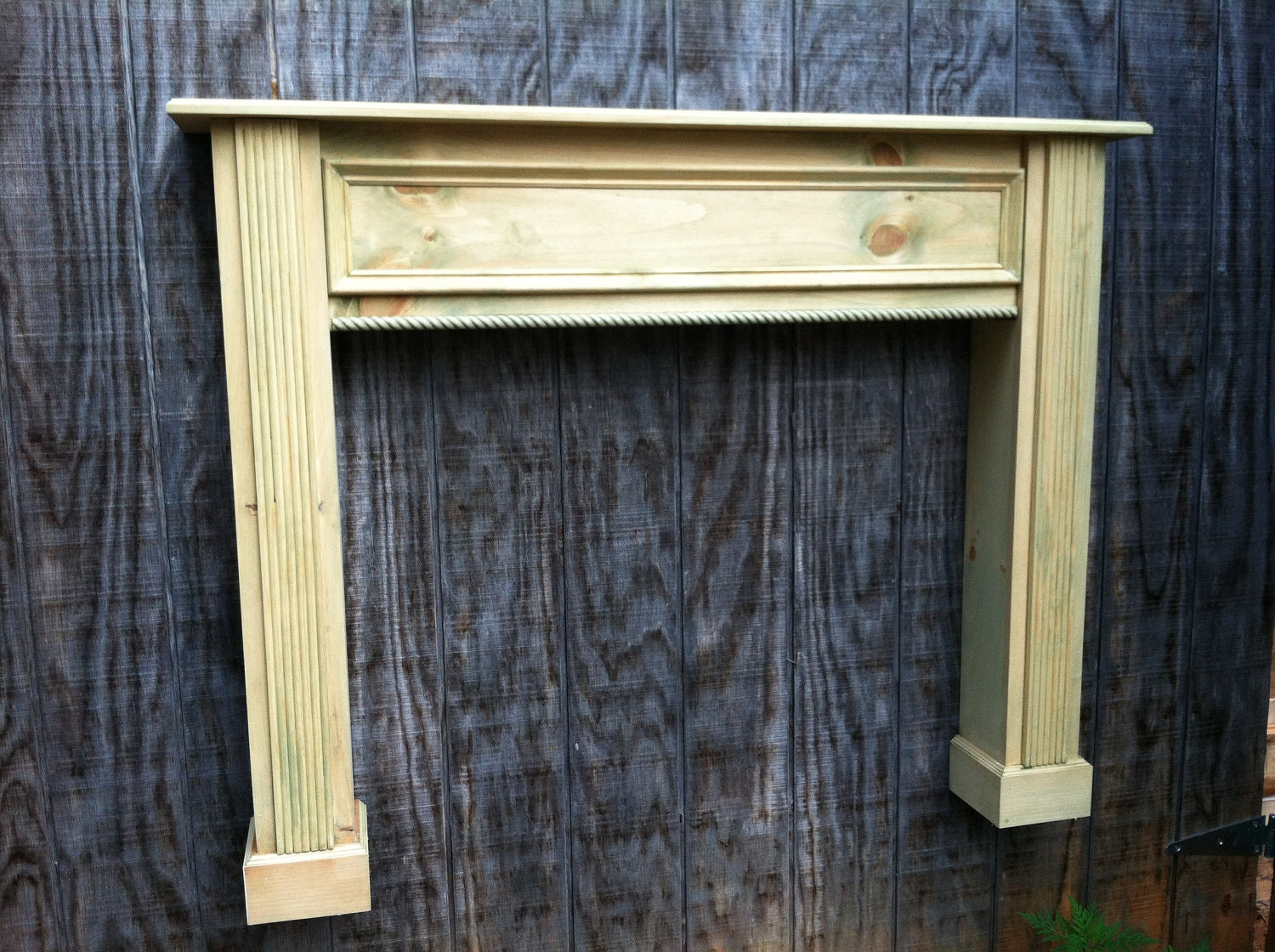 Distressed Fireplace Mantel Pearl Mantels 196 48 60 Cumberland 48 Wood Fireplace