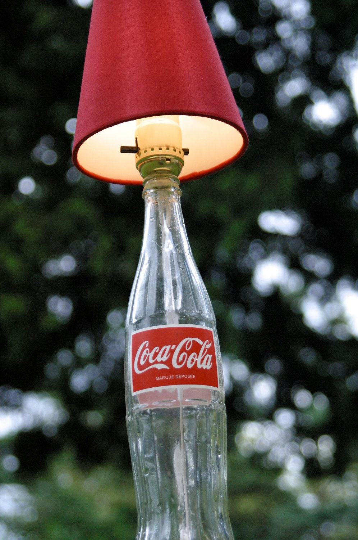 Classic coke coca cola bottle lamp for Best craft light reviews