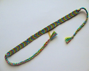 Tropical Friendship Bracelet