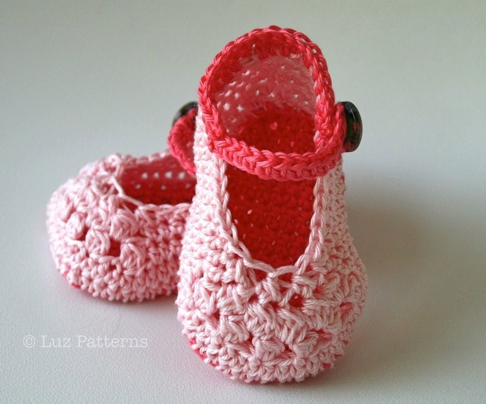 Crochet Stitches Baby Shoes : Crochet Pattern Baby Boots pattern INSTANT DOWNLOAD crochet