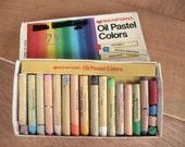 Set of Oil Pastel Colors - 16 colors