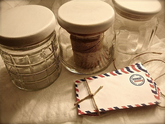 3 glass cookie jars with wooden lid set of glass candy jars. Black Bedroom Furniture Sets. Home Design Ideas