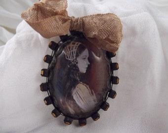SALE ~Antiqued Handmade Soldered Pendant --- SP-24