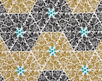 SALE- Ty Pennington Fabric for Free Spirit - Impressions - Abbey - Black