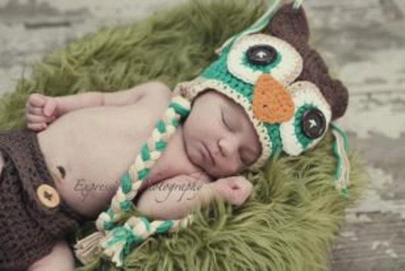 baby hat animal hat boys hat crochet boy hat boy owl hat baby
