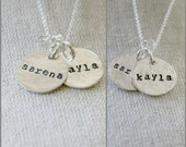 Mommy Necklace in Sterling Silver