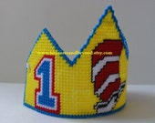 Dr Seuss Birthday . Dr Seuss Party . Cat in the Hat Birthday . Cat in the Hat Party . First Birthday Hat . Boy Girl Birthday Party Hat