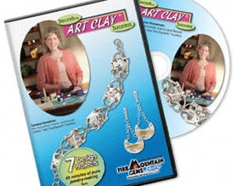 Secrets to Art Clay Success, instructional DVD hosted by Tamara Honaman