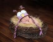 Sleepy LeeAnne Owl Earflap Hat - FREE Ship to USA