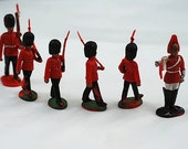 1960's British Plastic Toy Soldiers, London, Made in England, British Collectable, Kitsch London