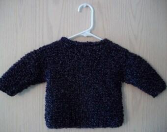 Purple Childrens' Sweater