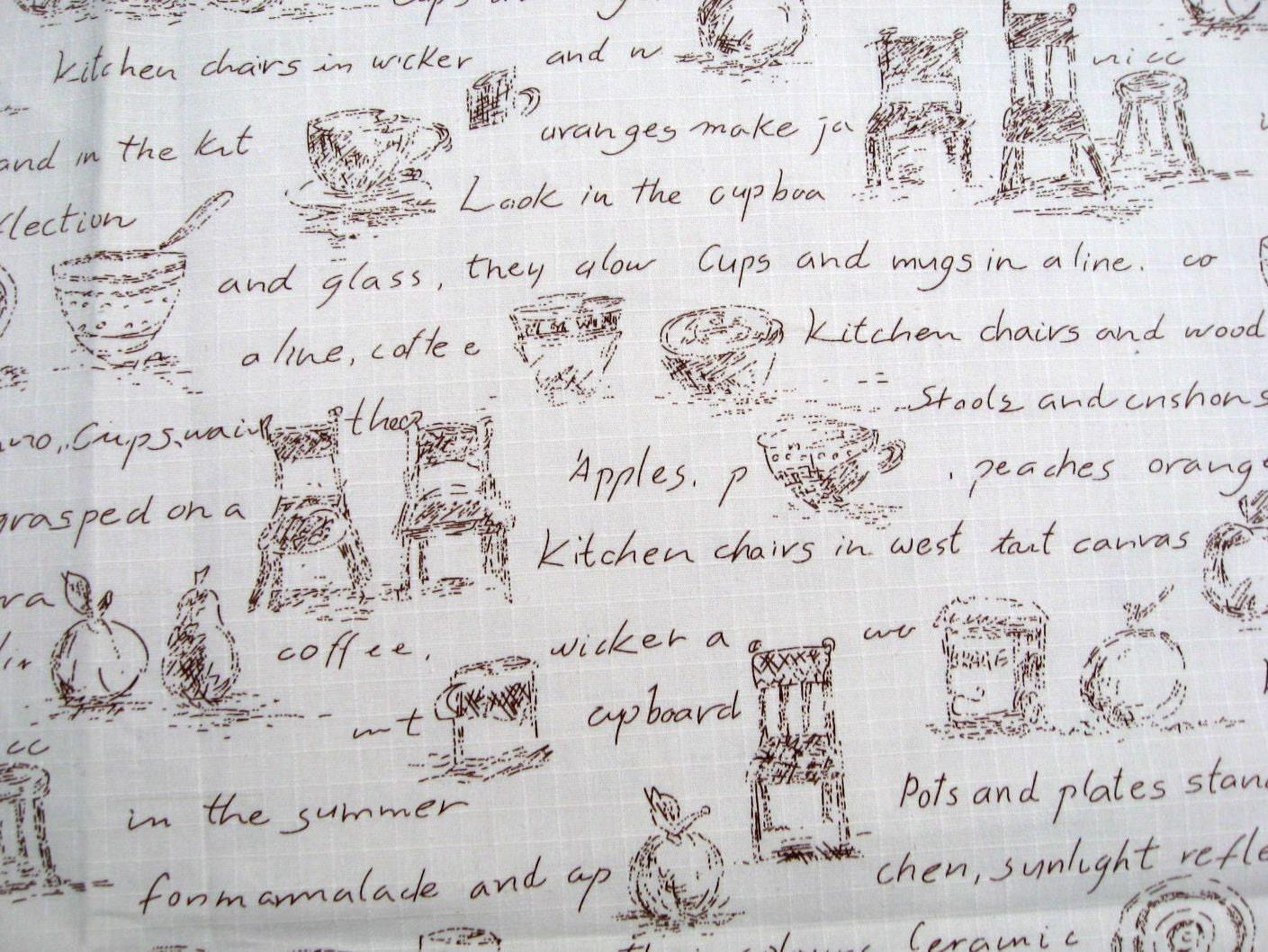 lf119 - caffè lino mescolato tessuto di cotone - sedia cup e ... - Sedia Rivestimento Tessuto Caffe