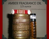 AMBER Fragrance Body Oil 1/3 ounce (oz)