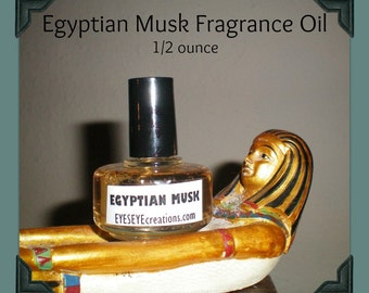 Egyptian Musk Fragrance Body Oil 1/2 ounce (oz)