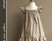 Lauren Dress - PDF Pattern - Size 12 months to 8 years old and tutorial, PDF Downloadable, Easy Pattern