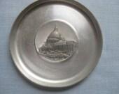 Vintage Washington DC Capitol aluminum souvenir