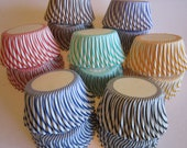 Thin Stripe Standard or Mini Baking Cupcake Liner Papers Cup