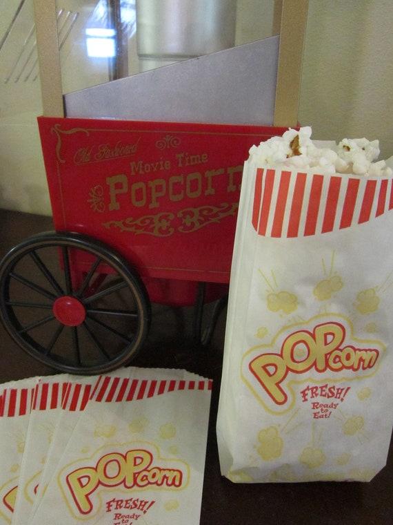 popcorn bags favor bags goodie bags set of 25